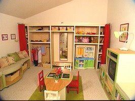 Love love love the back wall!: Garden Playroom, Area Ideas, Bedroom Playroom Classroom, Kids, Playroom Ideas