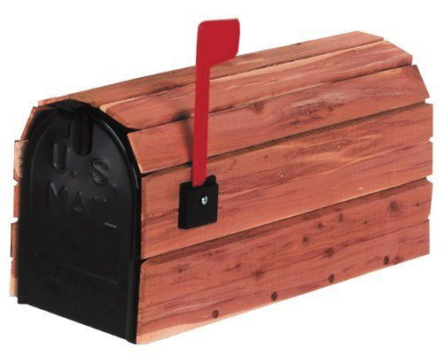 Solar Group CC1R0000 Red Cedar Classic Cover Rural Mailbox by Solar Group. $39.75. From the Manufacturer                The Solar Group Cedar Mailbox is great for giving your curbside a country look. It is standard sized galvanized steel housed in aromatic red cedar. Plastic flag kit is included. The wood weathers naturally over time, unless treated occasionally with a standard wood or deck seeler. Made in the USA.                                    Product Description  ...