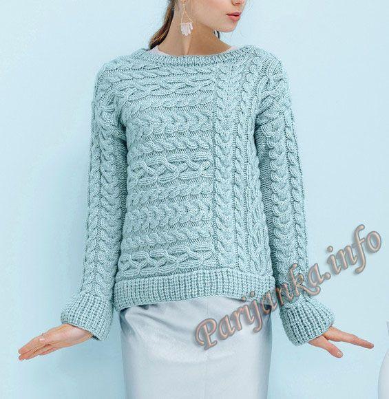 Пуловер (ж) 04*655 Phildar №5018