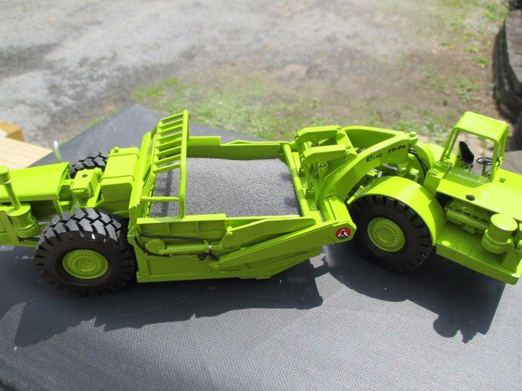Tonka Toy Trucks >> RR Models TEREX Euclid TS24 Tandem Scraper full Cab 1:48 ...