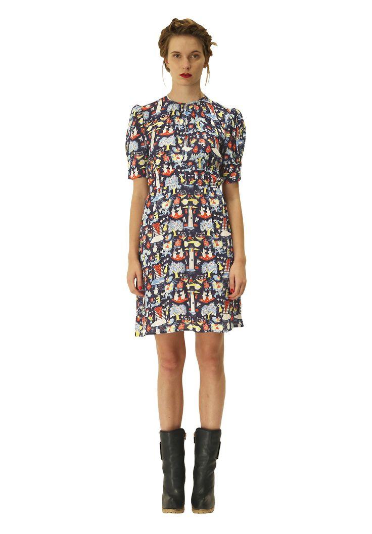 Pouta dress. Shop: http://shop.ivanahelsinki.com/collections/dresses/products/pouta
