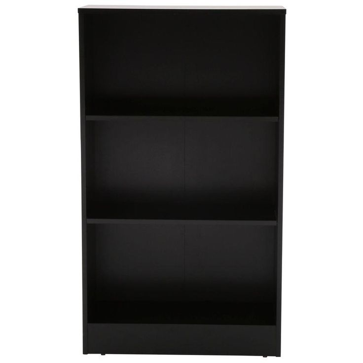 Black 3 Shelf Bookcase - Home Office Furniture Ideas Check more at http://fiveinchfloppy.com/black-3-shelf-bookcase/
