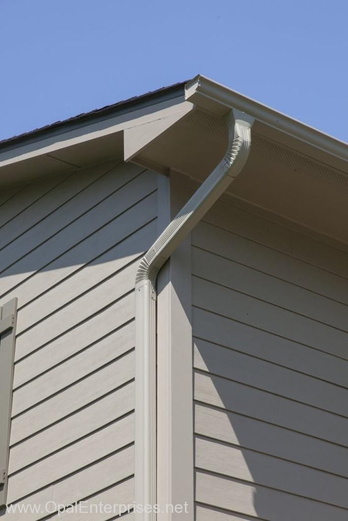hardie board siding khaki brown hardie board siding with matching gutters 29174