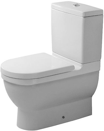 Starck 3 Toilet close-coupled #012809 | Duravit