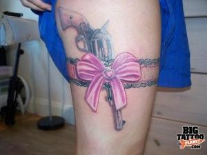 22 best gun tattoo design ideas images on pinterest for Gun holster tattoo