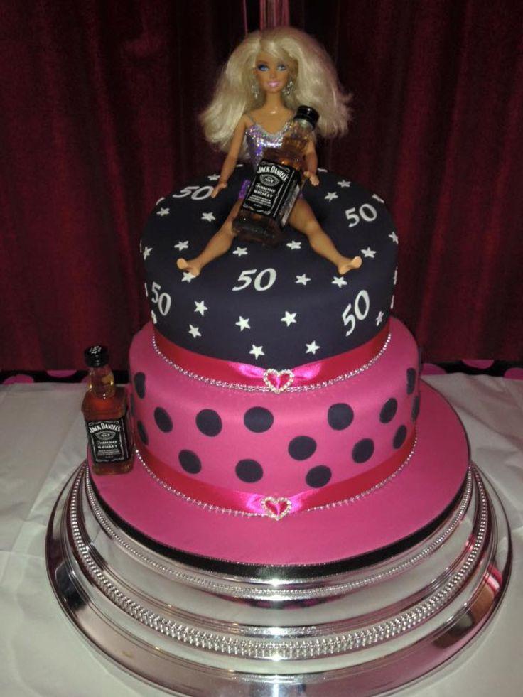 Barbie, Jack Daniels cake