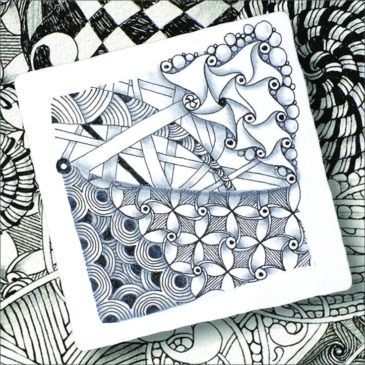 Sakura Micron pen - perfect for Zentangle, distributed by Woodware