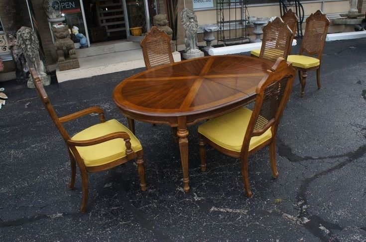 vintage drexel heritage dining room set | To Date Vintage Drexel Heritage Furniture | All Home ...