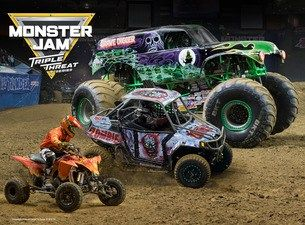 Monster Jam: Triple Threat Series, A Must See For Monster Truck Lovers!