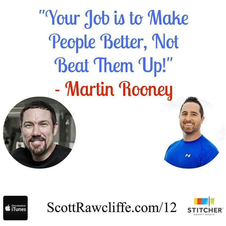 Gotta love Martin Rooney!  www.scottrawcliffe.com/12