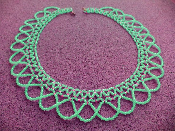 Free pattern for necklace Sheila