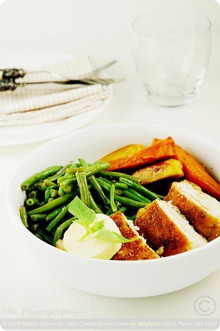 Parmesan and Thai Basil ChickenYummy Food, Parmesan Thai, Omitting Parmesan, Food Recipe, Food Drinks