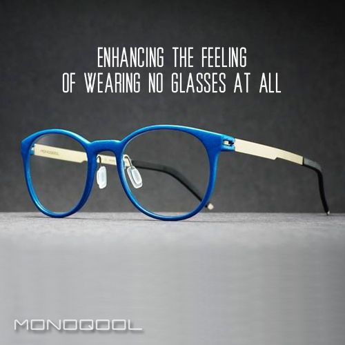It literally feels like you are not wearing glasses!  Give them a try!   #weightless #glasses #3DPrinted