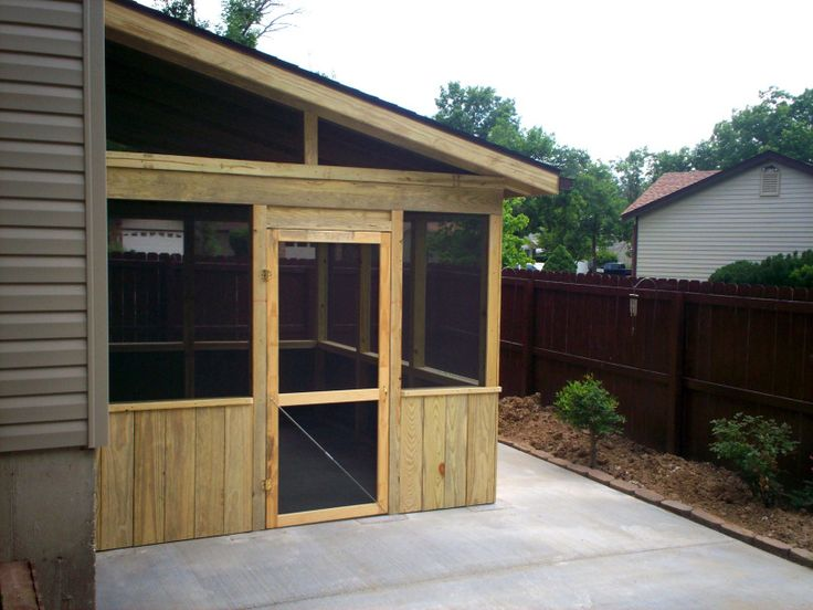 17 best ideas about lean to shed kits on pinterest wood for Shed roof screened porch plans