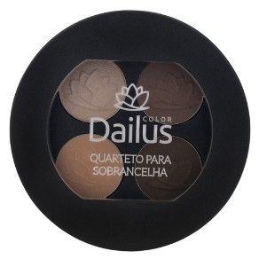 Quarteto para Sobrancelha Dailus - Sombra - Época Cosméticos
