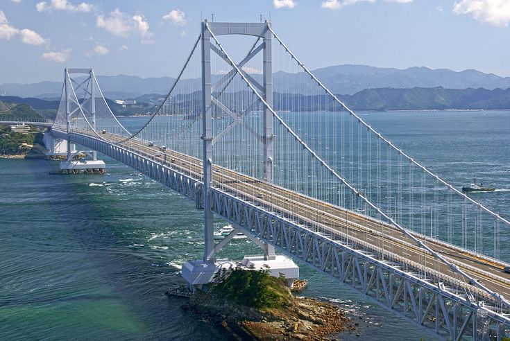 Ō-Naruto Bridge (Awaji Island Hyogo between Tokushima, Japan) / 大鳴門橋 (淡路島-徳島間)