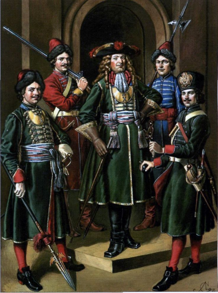 Preobrazhenski Guard Regiment Narva 1700 Military