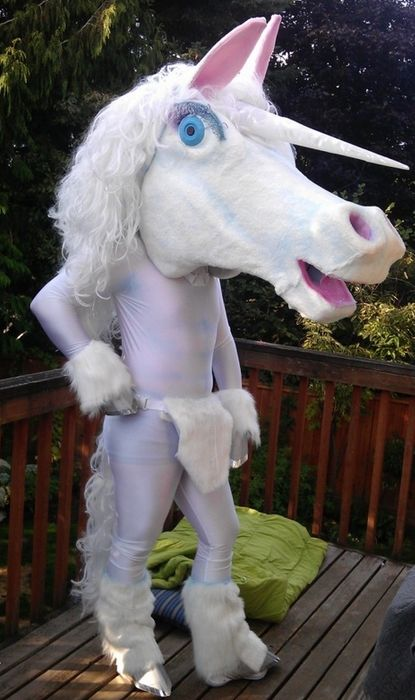 Unicorn Man - Is it a bird? Is it a plane? No! It's ... - photo#28