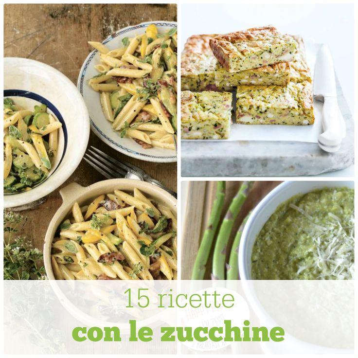 È stagione di zucchine e di ricette sane e semplici, adatte anche ai gusti dei bambini. Vi propongouna raccolta di ricette selezionate per incontrare il gu
