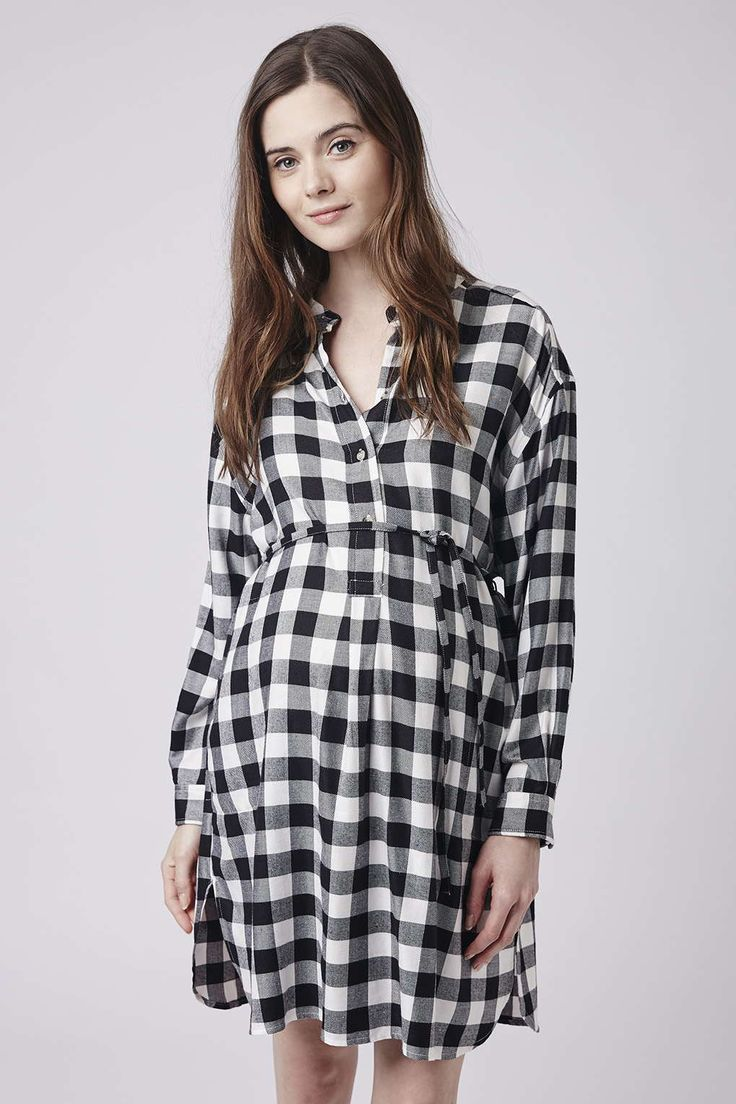 417 best bump wear images on pinterest maternity fashion check shirt dress topshop maternity ombrellifo Images