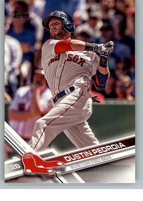 2017 Topps Baseball 130 Dustin Pedroia - Boston Red Sox