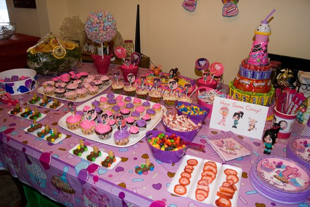 Wreck It Ralph Sugar Rush Birthday Party Ideas Birthdays