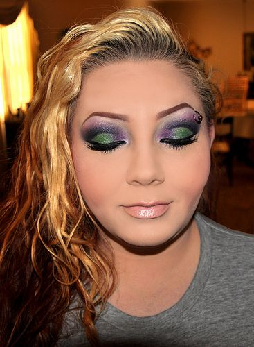 I love this, but I am afraid this much make-up would not look good on me?