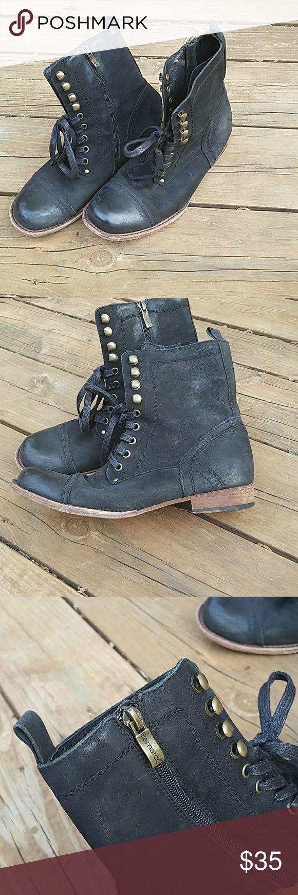 Bernardo lace up black moto boots Bernardo lace up black moto boots Bernardo Shoes Lace Up Boots