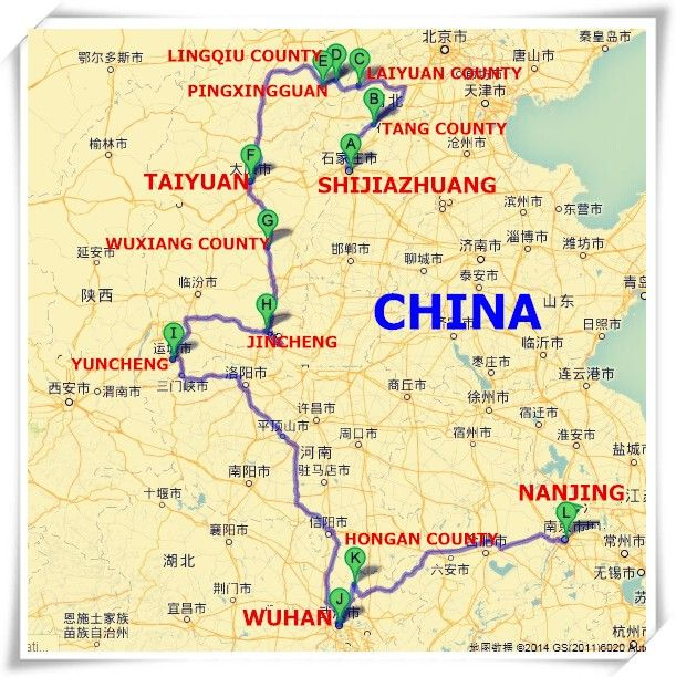 In Oct. 2014 members of the BBCA travelled in four provinces in China, visiting places Dr. Bethune worked in the late 1930's. We held a few free medical clinics in remote villages and visited some wonderful sites of historic and cultural interest. (Photo: the China Travel Service, Beijing)