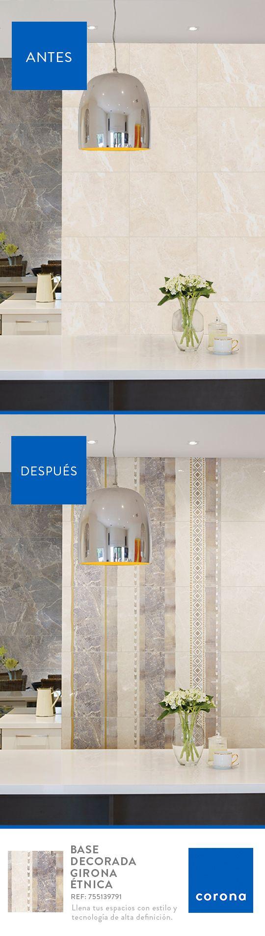 Destaca tu cocina con decorados que le den estilo y amplitud al espacio