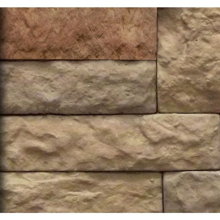 Lowes Air Stone Backsplash: 19 Best Faux Brick Images On Pinterest