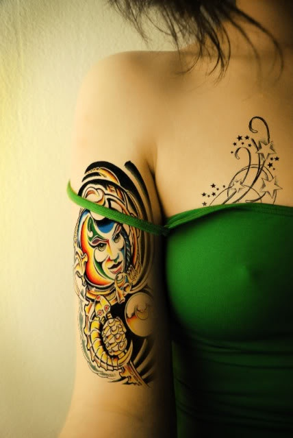 154 best tattoos images on pinterest horse horses and for Sparkling star tattoo