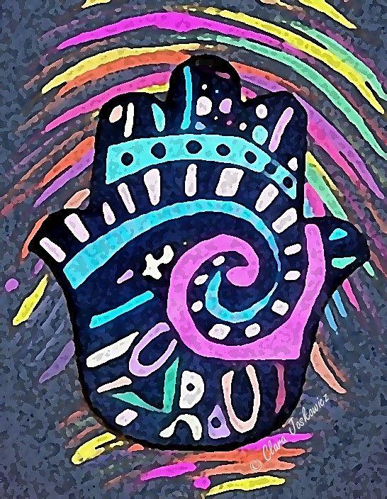 Hamsa Multicolor