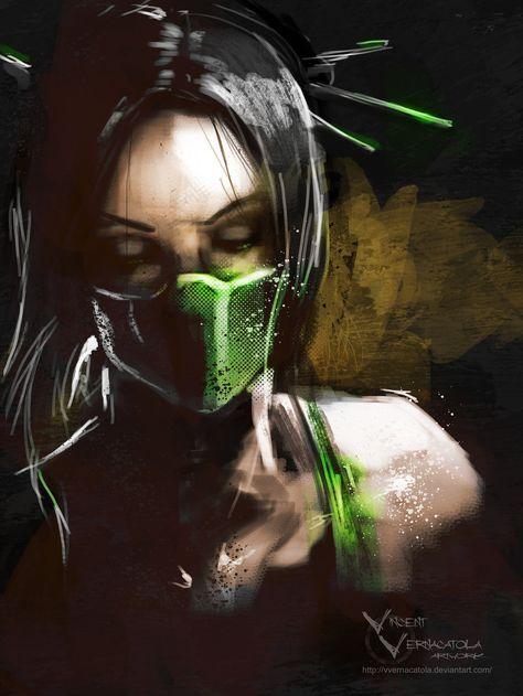 Jade by VVernacatola. Mortal Kombat video game.