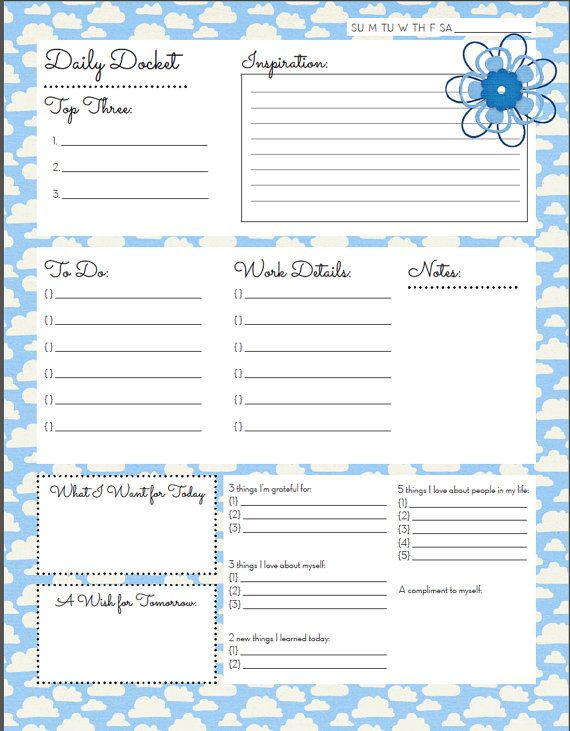 841 best images about smash book journal day planner on for Self care plan template