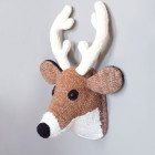 Sincerely Louise knitted Deer Head.