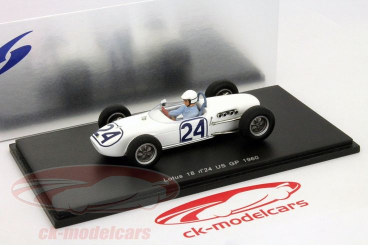 Lotus 18 USA GP Formula 1 1960 1:43 by Spark | Gear X Head