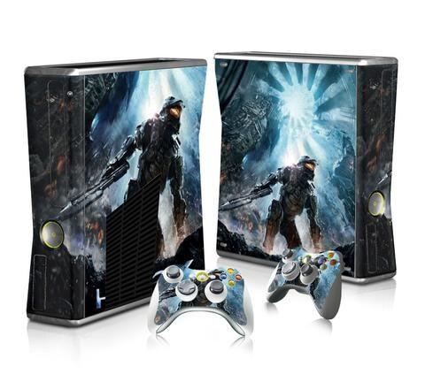 Halo 5 Guardians sticker skin for Xbox 360 slim - Decal Design