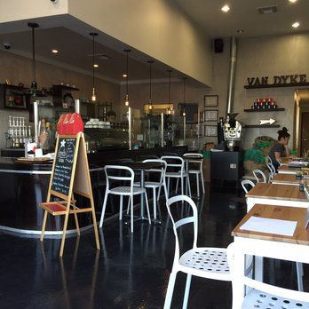 Van Dyke Coffee Roasters - Check out this cafe for delectable treats & great study vibes.