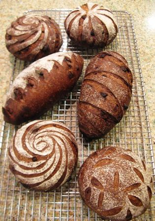 Hello,I first tasted Pan de Cioccolate, an amazing bread!, when it was served to students at SFBI's weekend Baguette workshop last October. I was so happy to see that bread again, when attending my recent class there :^)The formula for this bread is in Advanced Bread and Pastry, so today I gave it a go.My husband loves it too, and upon tasting it, requested that I bake it for his birthday and stick a candle in it! :^)By way of explanation, my girlfriend had kindly given me a little…