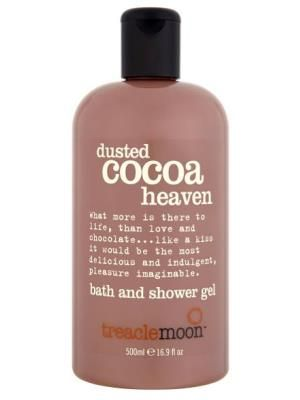 Treacle Moon has announced the launch of its Dusted Cocoa Heaven bath & shower gel for Christmas. Available from October 1, the cocoa-scented product retails at £2.99 and is available at Tesco.