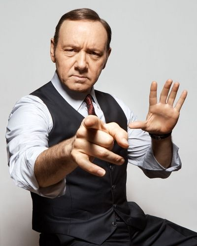Kevin Spacey. PURE brilliance! I wish I could have hours to pick his brain.