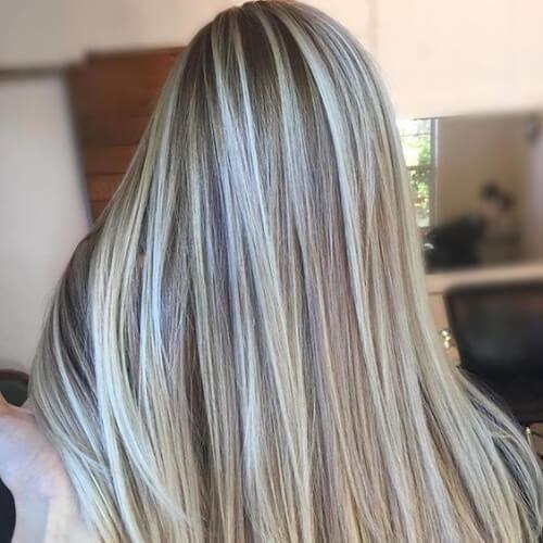 55 modische Ideen für braunes Haar mit blonden Highlights