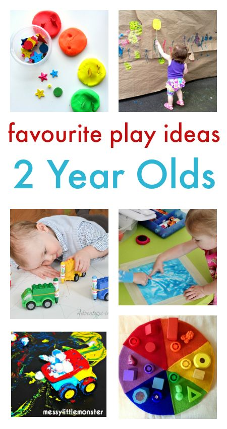 play ideas for two year olds :: toddler play :: toddler activities