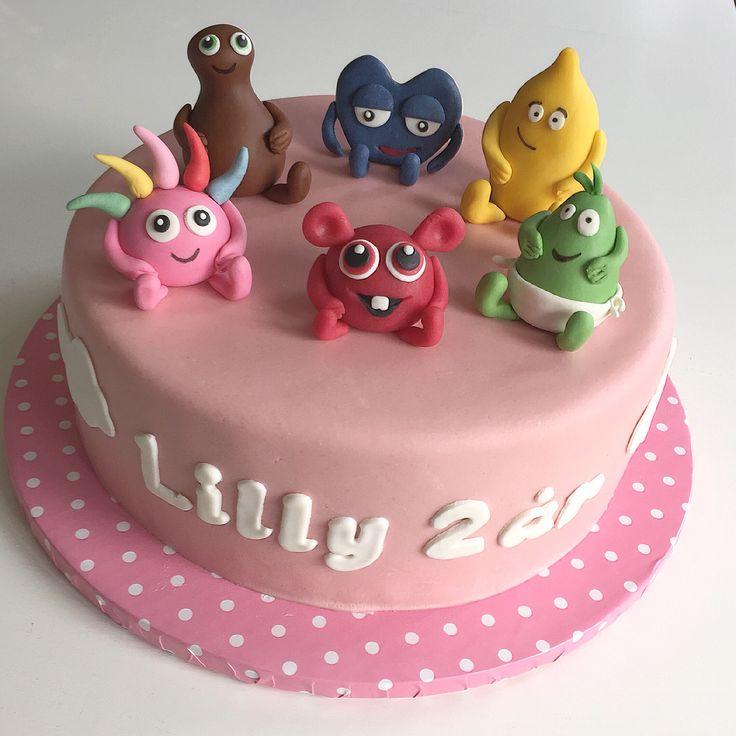 """Babblarna"" birthday cake"
