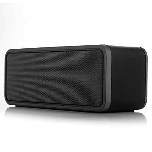 Augymer Wireless Bluetooth Speaker Portable Dual Driver HIFI Stereo Enhanced Bass Powerful Sound 10W Bluetooth Speakers With Mic TF FM AUX For Apple Android Mobile Phone Tablets PC Music Player *** Read more  at the image link.