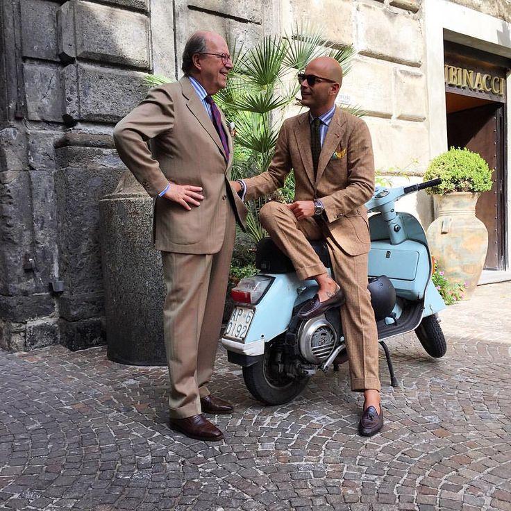 Father & son Rubinacci