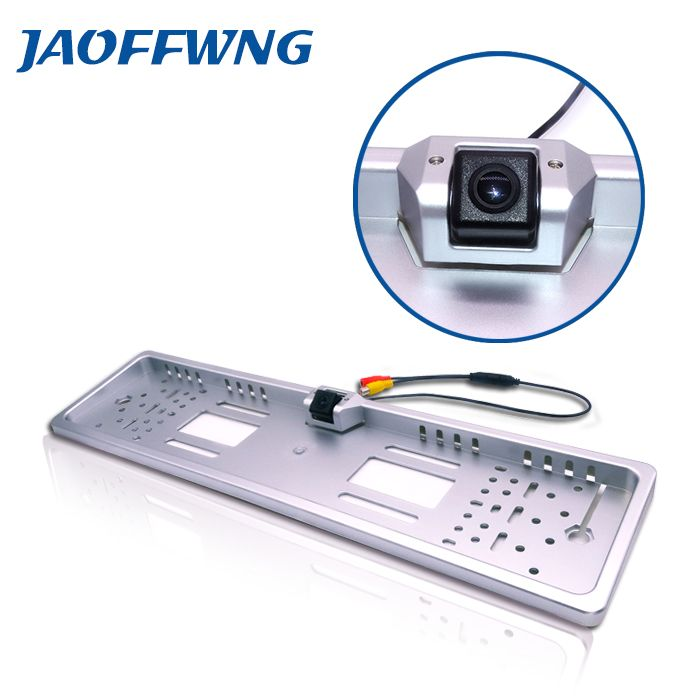 buy factory direct sale ccd hd rear view camera european license plate frame camera170 backup #european #license #plates