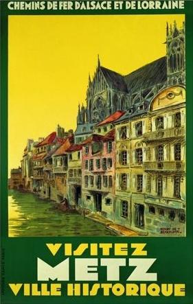 Metz , département de la Moselle, Région : Lorraine