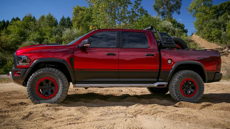 With a 6.2L supercharged HEMI® V8 engine and sturdily built with an off-road suspension, the RAM 1500 Rebel® TRX will be the most powerful factory-engineered half-ton pickup. https://www.ramtrucks.com/en/limited-editions/ram-1500/rebel-trx/
